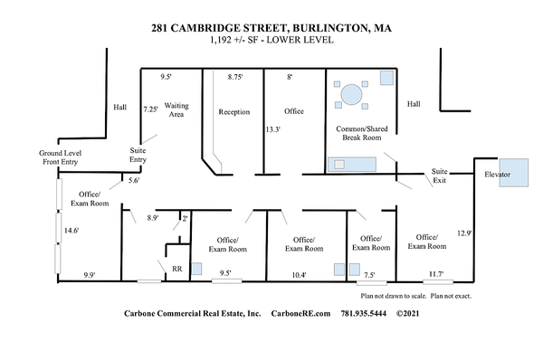 View picture of 281 Cambridge St 1192sf