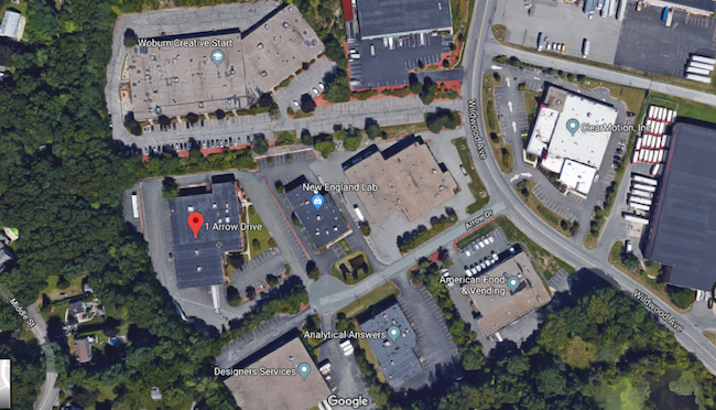 3300 sf office space for lease 1 Arrow Drive Woburn MA