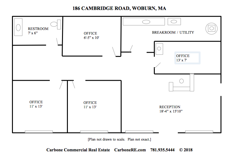 186 Cambridge Rd Woburn 2nd flr