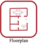 ICON FLOORPAN WITH LABEL 130X150
